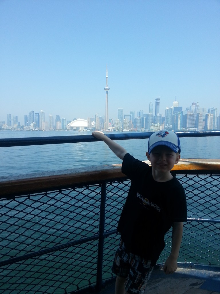 Ferry from Toronto Island