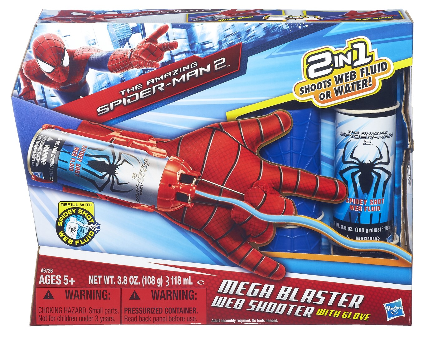 Review The Amazing Spider Man Toys From Hasbro Like A Dad Spiderman Mega Blast Web Shooter Glove In Pack