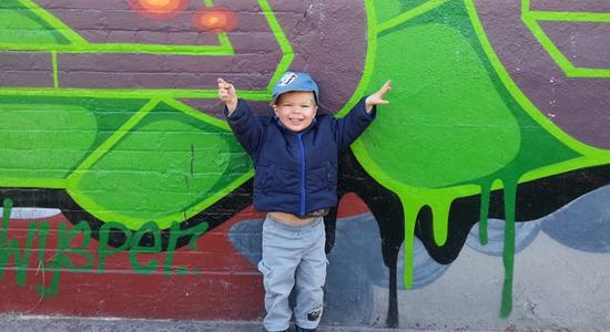charlie wally Look Out Walls, Charlie Has Crayons